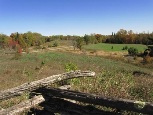old farm fence
