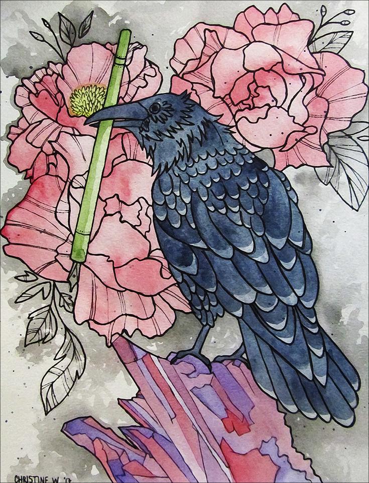 raven the novelist